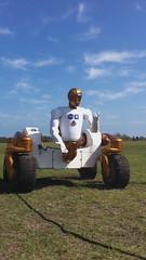 NASA's Robonaut 2 in rover configuration.