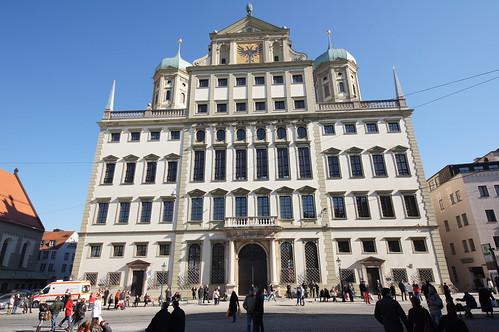 2011-02-26 Augsburg 003 Rathaus by Allie_Caulfield, on Flickr