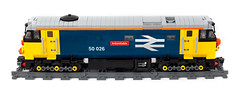 LEGO BR Class 50 (oidan) Tags: train canon br lego diesel side loco hoover locomotive britishrail vac pf class50 indomitable englishelectrictype4 50026 powerfunctions 5dmark2
