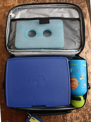 First Grade Bento #421: In the lunch bag