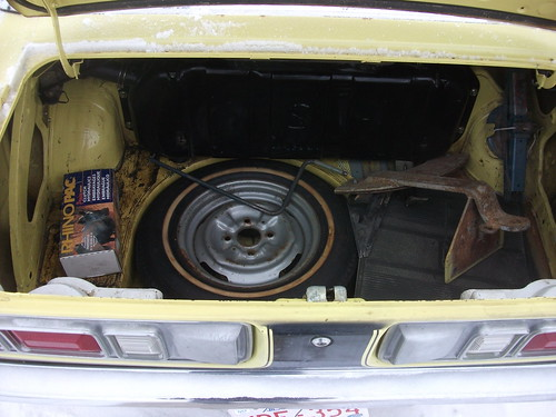 1973 Mazda 808 Coupe trunk