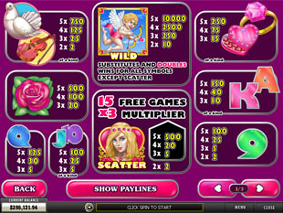free True Love slot mini symbol