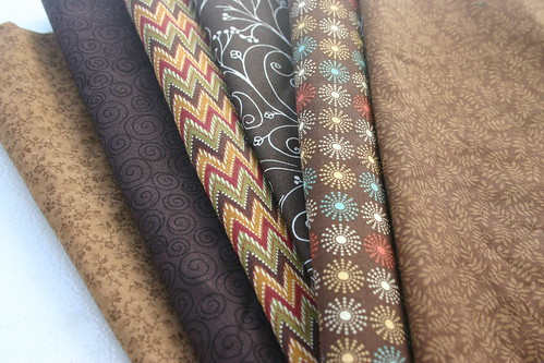 Yummy Brown Fabrics