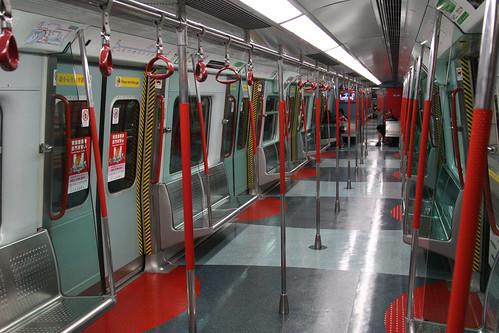 Inside a Metro Cammell EMU