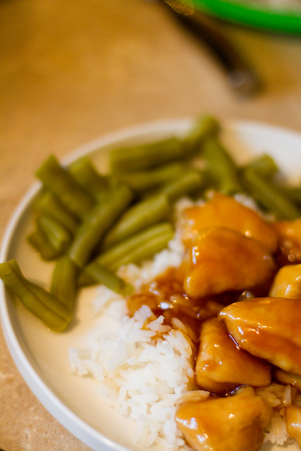 Really simple Sesame Chicken Recipe