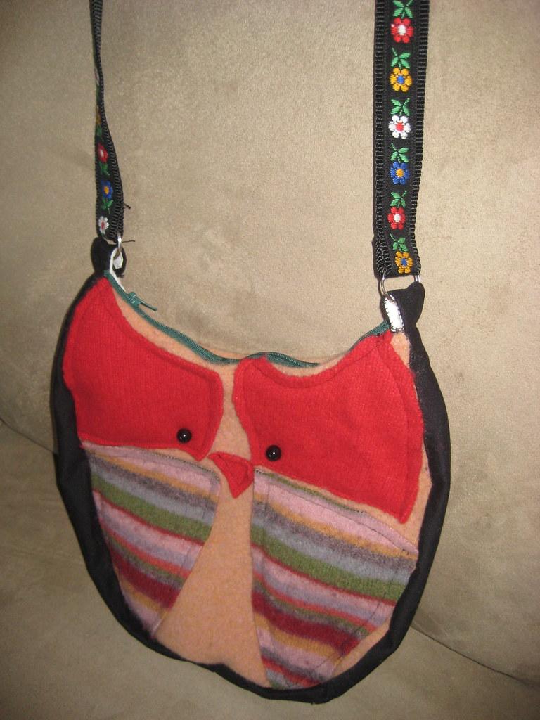 Owl purse 1
