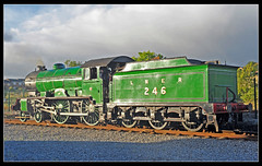 """Class D49 No. 246 """"Morayshire"""" at """"Locomotion"""", Shildon (BrianG's photos) Tags: class shire morayshire 246 shildon d49 nrmlocomotion shireclass"""