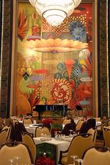 Allure of the Seas Dining Room (blmiers2) Tags: cruise orange art nikon ship chandelier diningroom cruiseship royalcaribbean seas allureoftheseas d3100 allure1 adagiodiningroom cruisingalong blm18 blmiers2