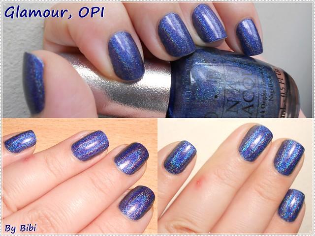 blue azul glamour ds polish bleu opi vernis esmalte