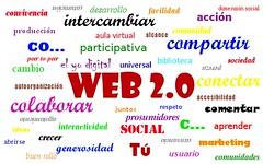 ¿Qué es la web 2.0? Nube de etiquetas
