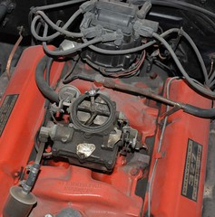 """1965 Pontiac Parisienne Engine Paint and Detail • <a style=""""font-size:0.8em;"""" href=""""http://www.flickr.com/photos/85572005@N00/5510406308/"""" target=""""_blank"""">View on Flickr</a>"""