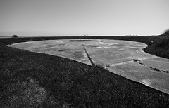 Gun emplacement, Fort Travis