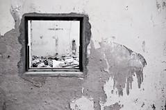 (Lucas Jampietro) Tags: wood wall hole bricks pipe cano velha janela madeira tinta parede histria tijolo marcas destruda
