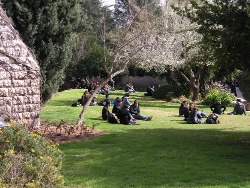 Campus of The Hebrew University in Jerusalem