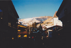 (Lewis Gregory) Tags: sunset snow colorado skiing denver blueskies disposable