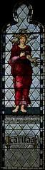 Caritas (IanAWood) Tags: london raw stainedglass 1889 williammorris putney allsaintschurch churchwindows churchofengland morrisco d3x siredwardburnejones walkingwithmynikon nikkorpce24f35 surreychurches