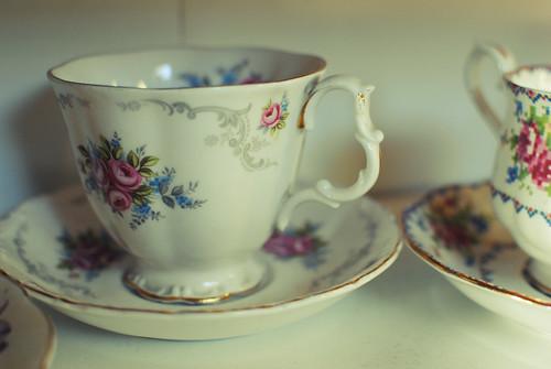 nana's teacups