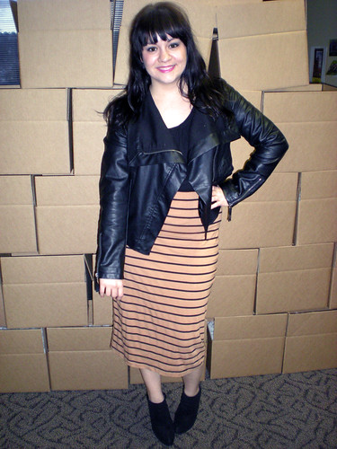 Stripes and Leather - 030811