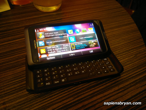Nokia E7 Full QWERTY Keyboard