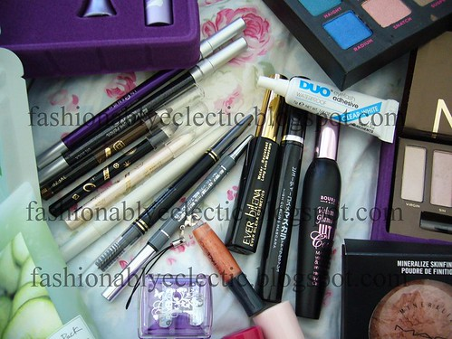 Eye makeup haul