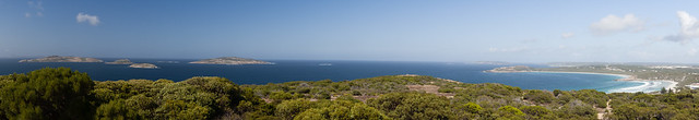 Southwest from the Rotary Lookout, Esperance