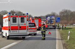 Auffahrunfall Schiersteiner Kreuz 12.03.11