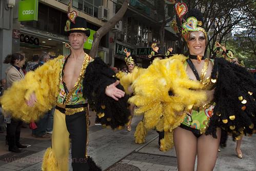 Comparsa carnaval de dia