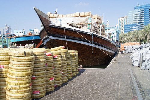 Dhow Loaded Up