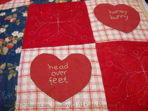 our memoery quilt