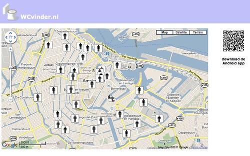 WCvinder.nl vind snel een wc in de buurt