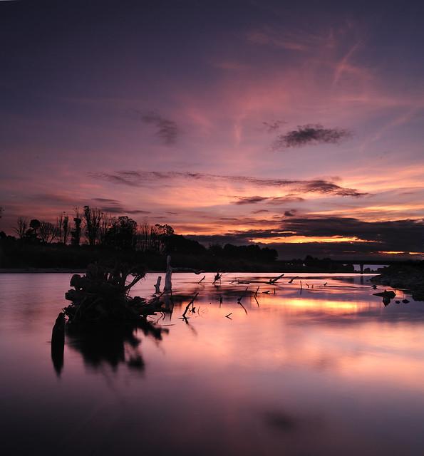 Manawatu River at Dusk (Part 3)