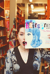 Are me and Tracy Turnblad Long Lost Sisters? (Jade M. Sheldon) Tags: me face blog post books jade split hairspray couleur powellsbooks tracyturnblad jademsheldonphotography kmillerphotoshopactions