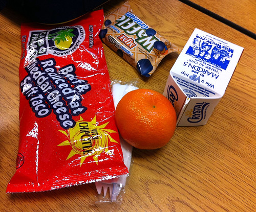 My son's lunch