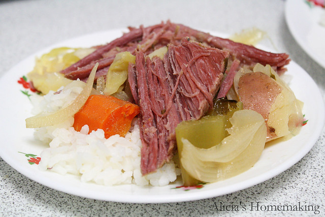 Corned Beef Brisket with Veggies