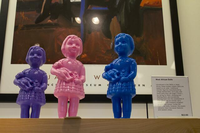 dolls at the sfmoma shop