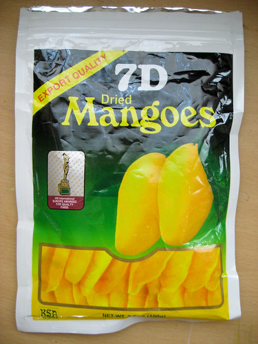 chocolate covered dried mangoes