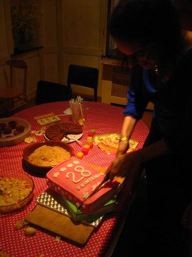 28 Printemps cake découpage