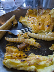 Omelette (Dillsnufus) Tags: food yellow cheese canon french thomas egg ham powershot fries american thomass omelete frie frrench eggery s95