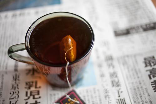 紅茶 被曝 水道水放射能汚染