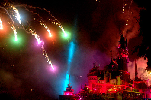 """Disney in the Stars"" fireworks"