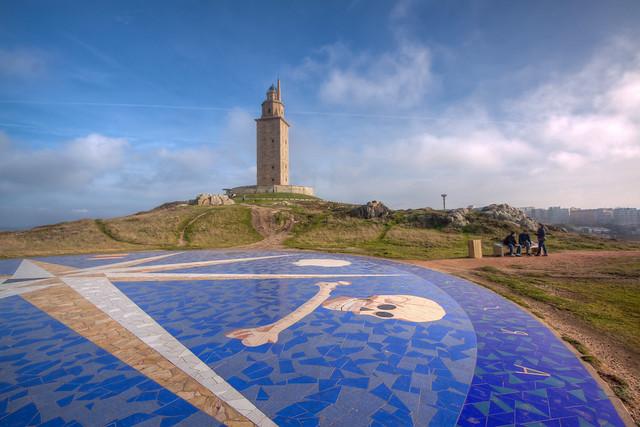 Torre de Hercules.
