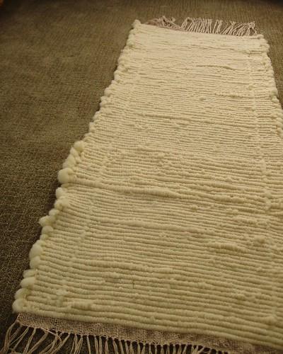 woven wool rug?