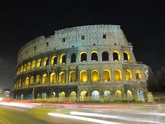 The Colosseum (2010 Till When?) Tags: longexposure travel rome roma travelling bike colosseum adventure bikeride colosseo worldtour cycletouring merbus 2010tillwhen strawberryavenue www2010tillwhencom worldcycle wwwstrawberryavenuecom wwwalpkitcom wwwmerbuscom trevignanoromanoroma