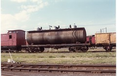 VTQY 85 Newport Workshops circa 1980s (booksvic) Tags: tank railway vr wagons vline