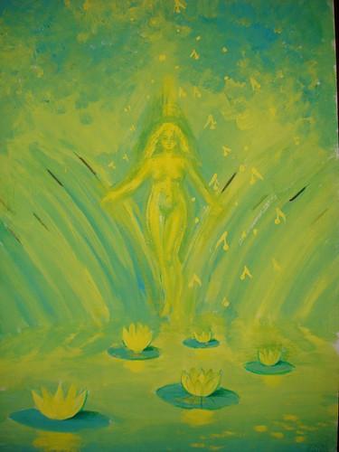 Lacul, pictura 2003