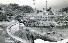 [IDAHO-B-0023] Snake River - St. Anthony (waterarchives) Tags: park river watertower idaho snakeriver stanthony realphotopostcardrppc