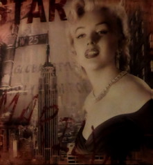 Star - Marilyn Monroe (fotomie2009) Tags: marilyn poster monroe mito diva