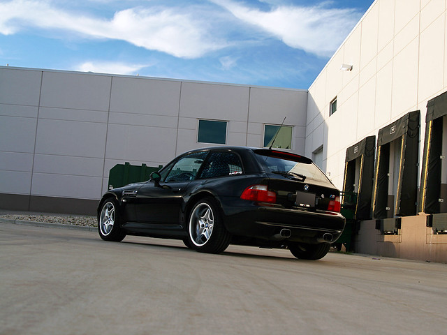 Black Z3 M Coupe