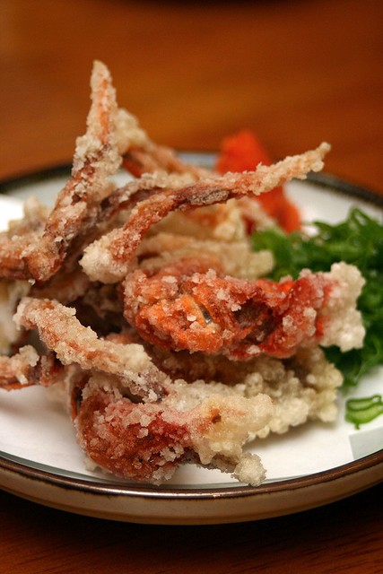 Soft shell crab tempura S$8