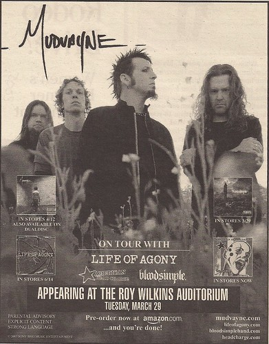 03/29/05 Mudvayne/Life Of Agony/American Head Charge/Bloodsimple @ St. Paul, MN